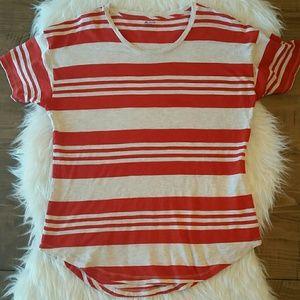 Madewell Whisper Cotton Crewneck Tee Stripe